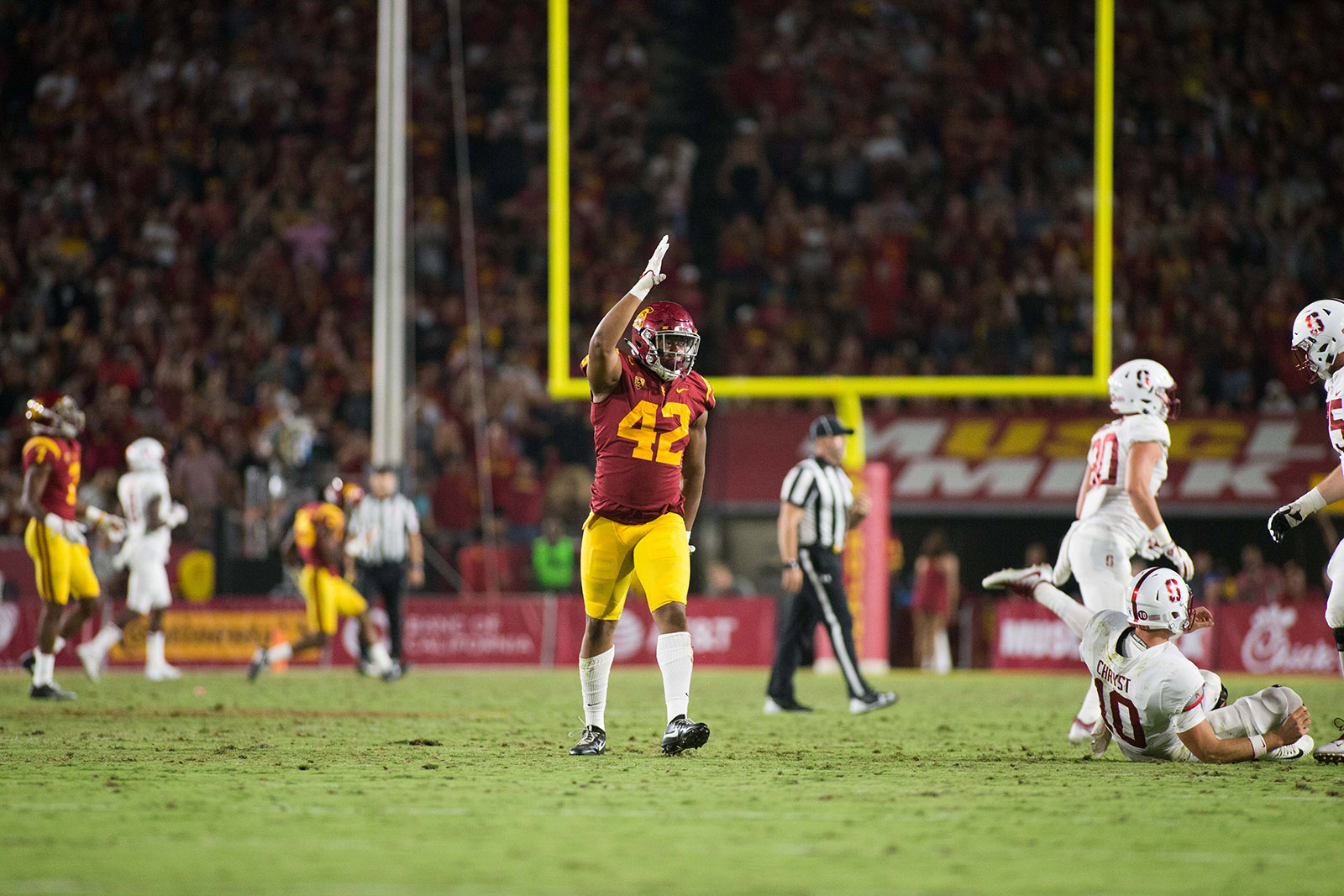 Run game headlines Stanford-USC rivalry