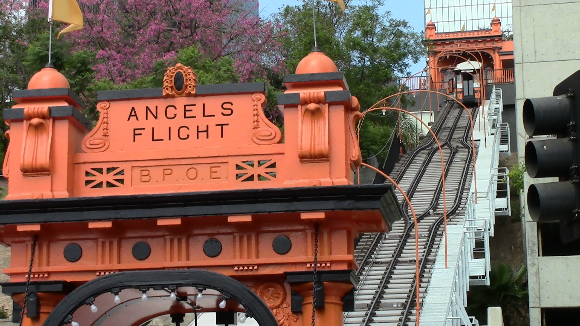 Back On Track  Angels Flight Is Up And Running Again On
