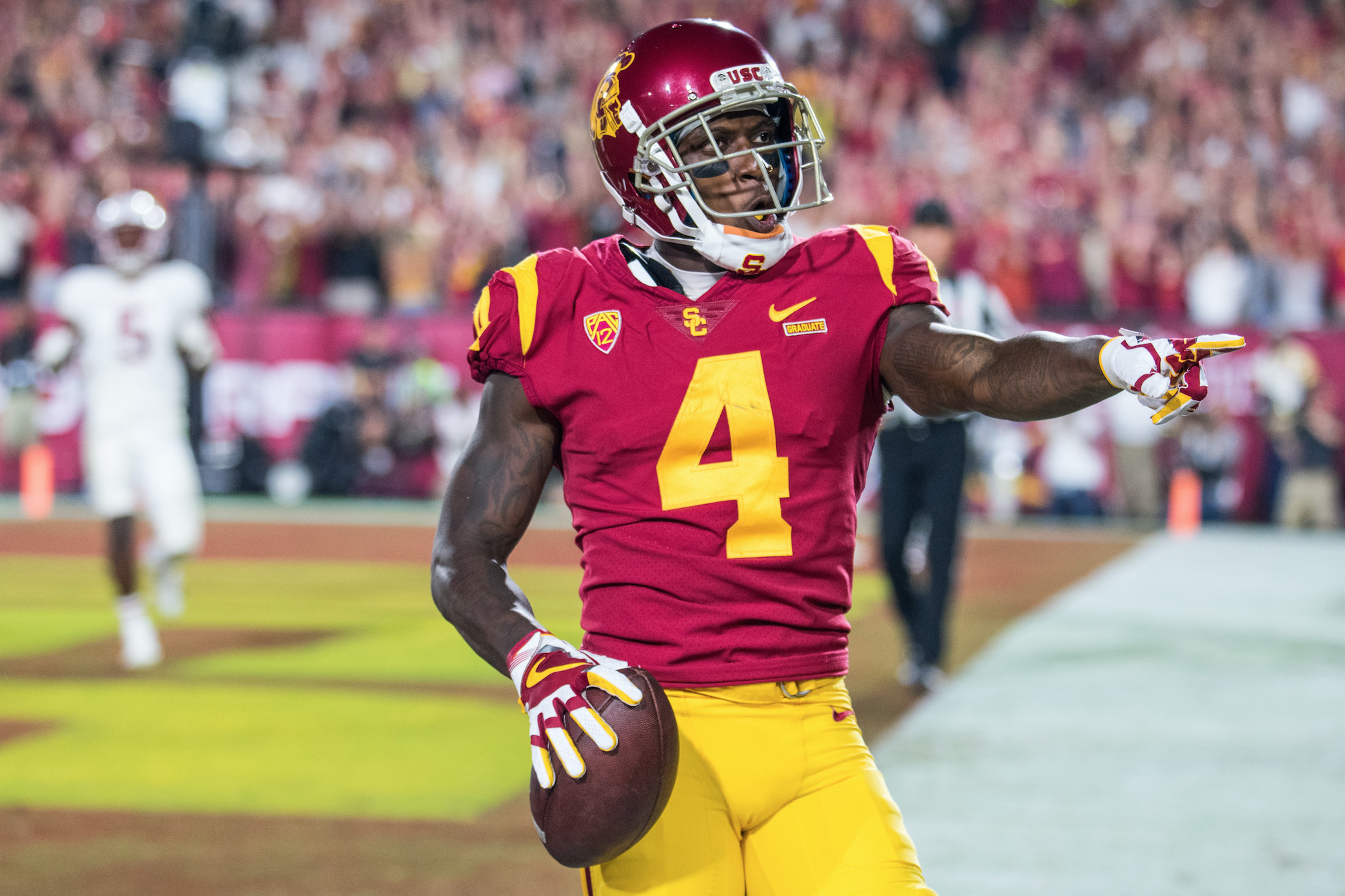 USC without TE Daniel Imatorbhebhe in Pac-12 opening win vs. Stanford