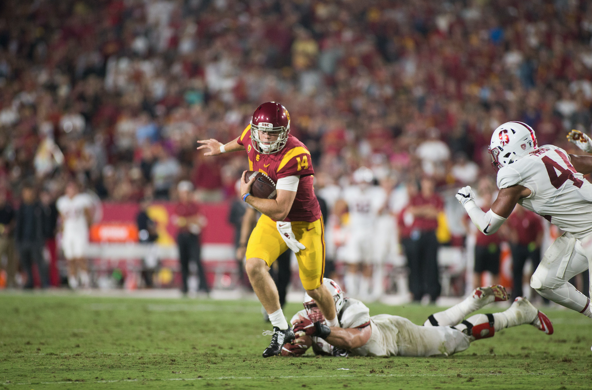 USC looks for a win and a boost in rematch with Texas