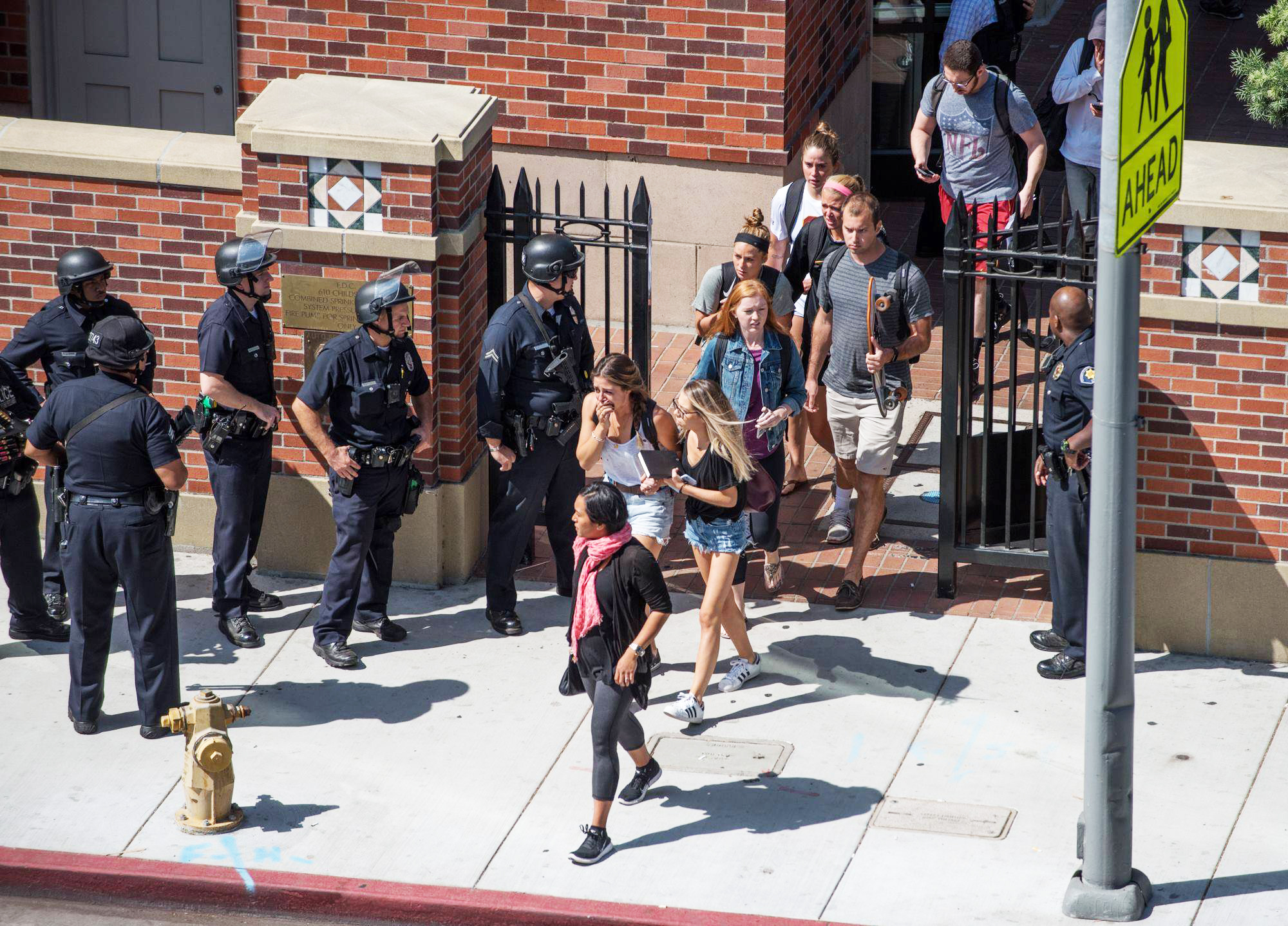 LAPD declares no shooting at USC, clarifying initial reports