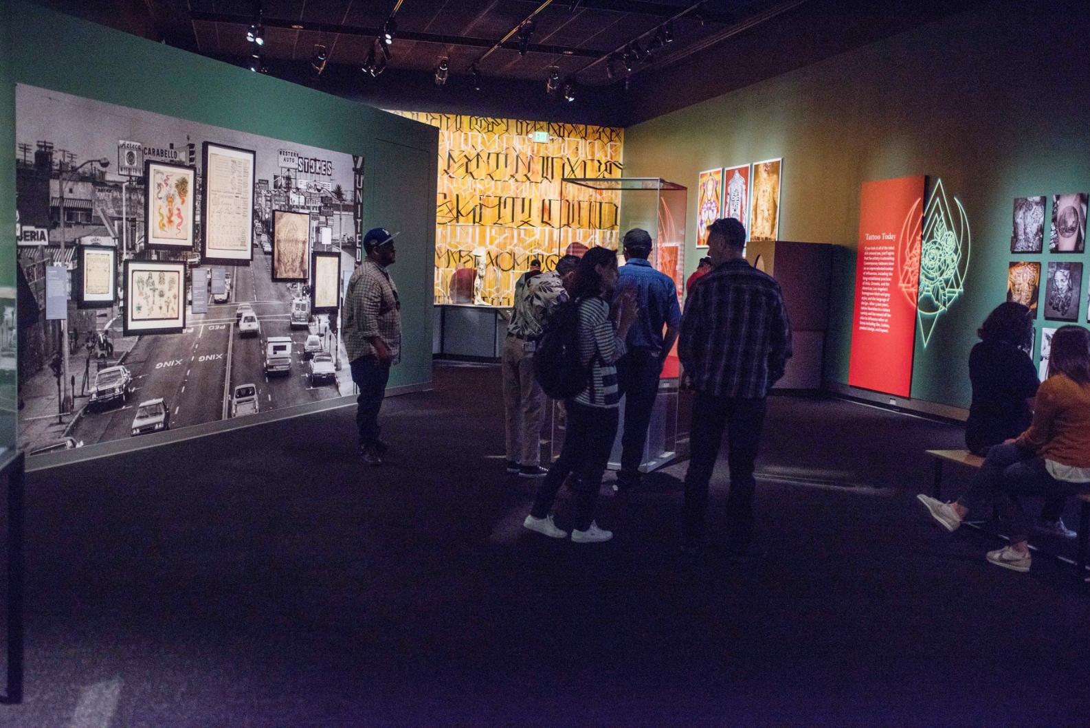 Natural History Museum Tattoo Exhibit