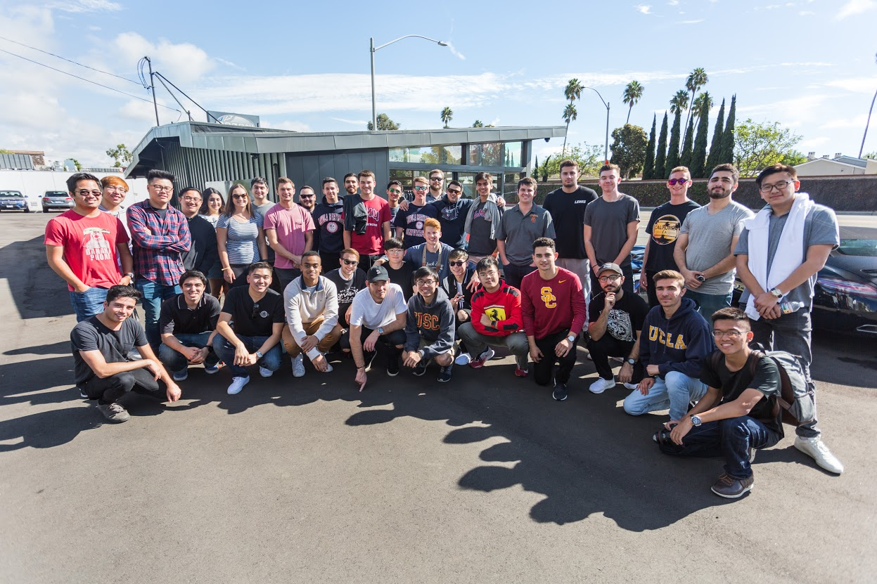 Where Are Usc Ucla Chapman And Loyola Marymount Located On A California Map.New Club Aims To Foster Community Of Car Enthusiasts Daily Trojan