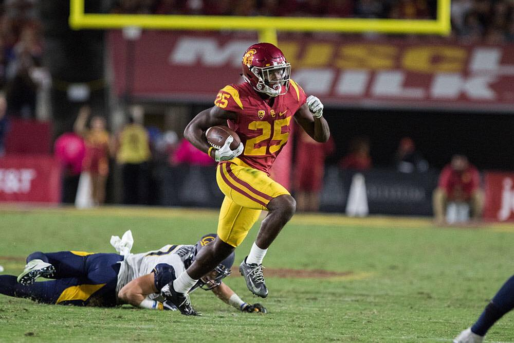 USC RB Ronald Jones intends to enter 2018 NFL Draft