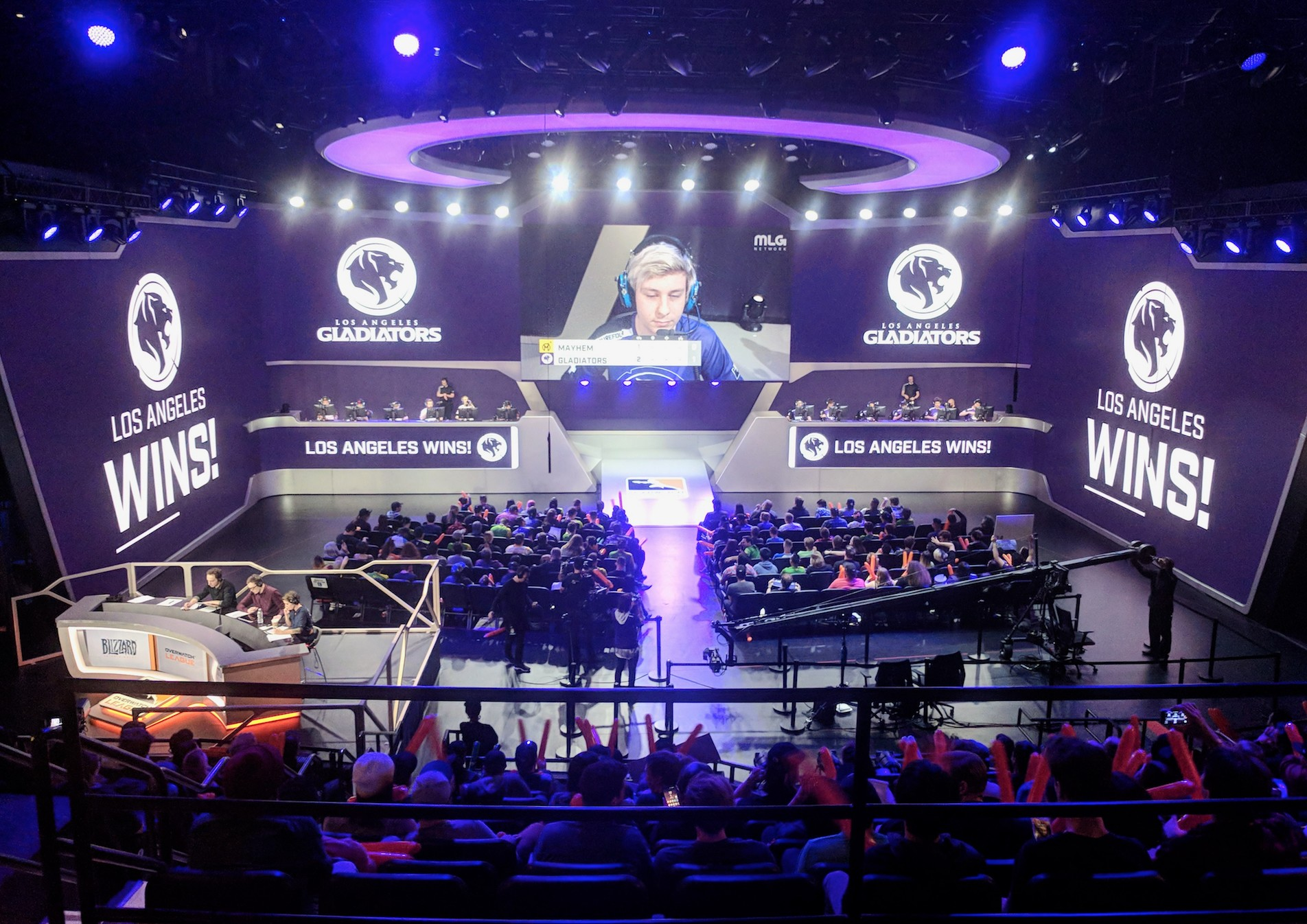 la gladiators host college night with usc esports