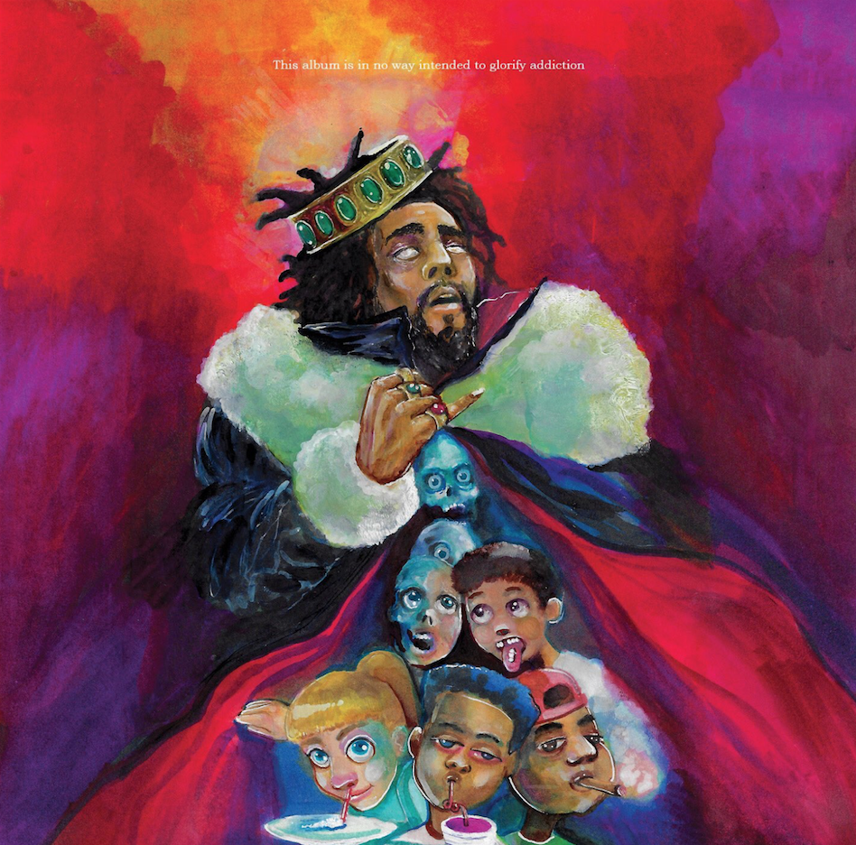 J. Cole breaks Apple Music streaming record with 'KOD'