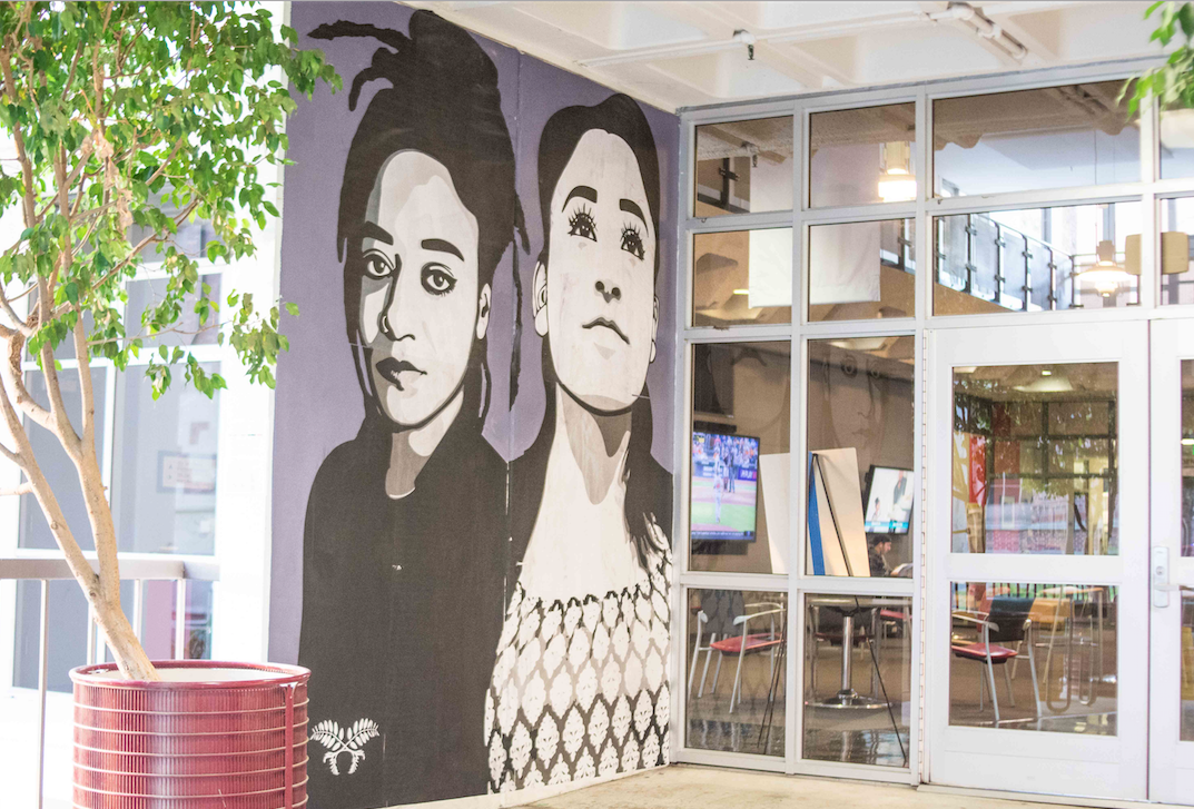 Annenberg mural addresses diversity empowerment daily for Mural school
