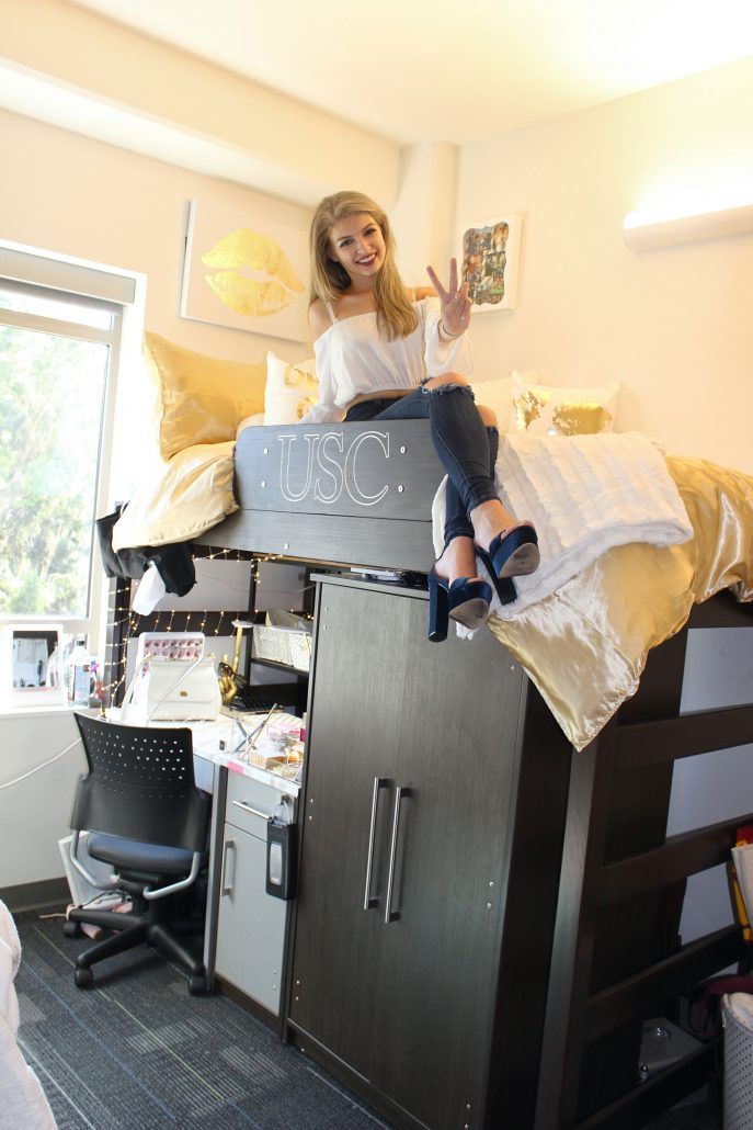 Usc Village S Smallest Units Undergo Lofty Redesign