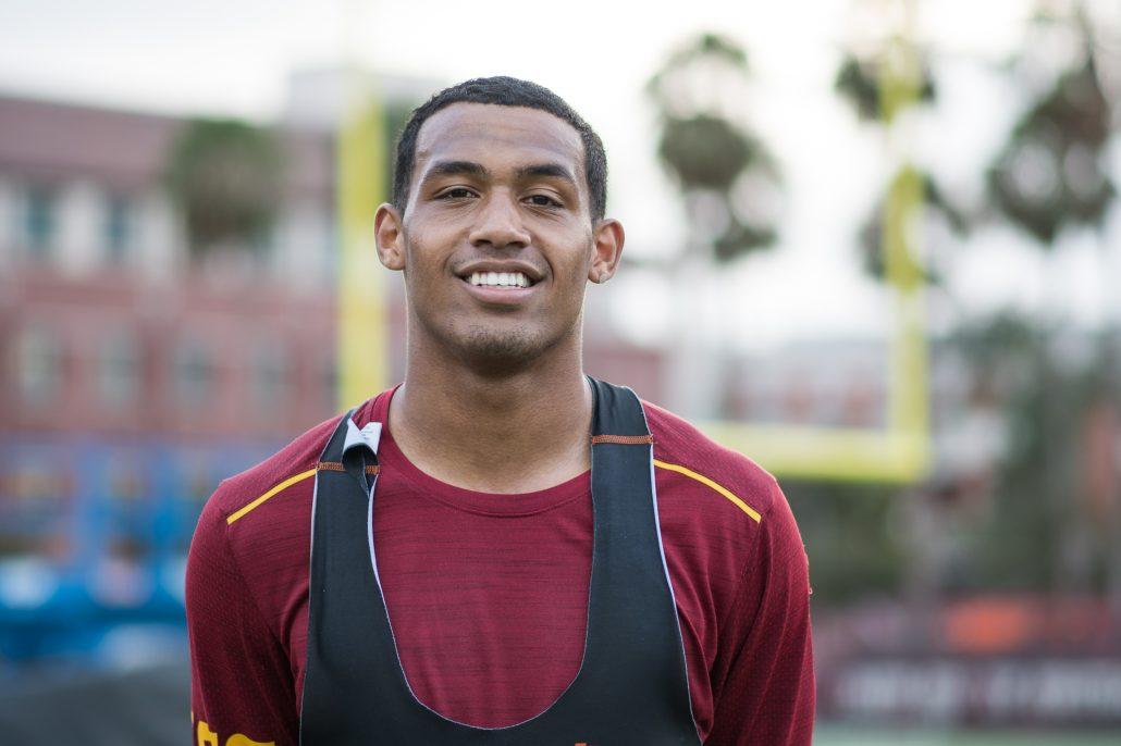 Redshirt freshman safety makes first impression | Daily Trojan