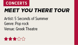 REVIEW: Greek crowd carries 5 Seconds of Summer | Daily Trojan