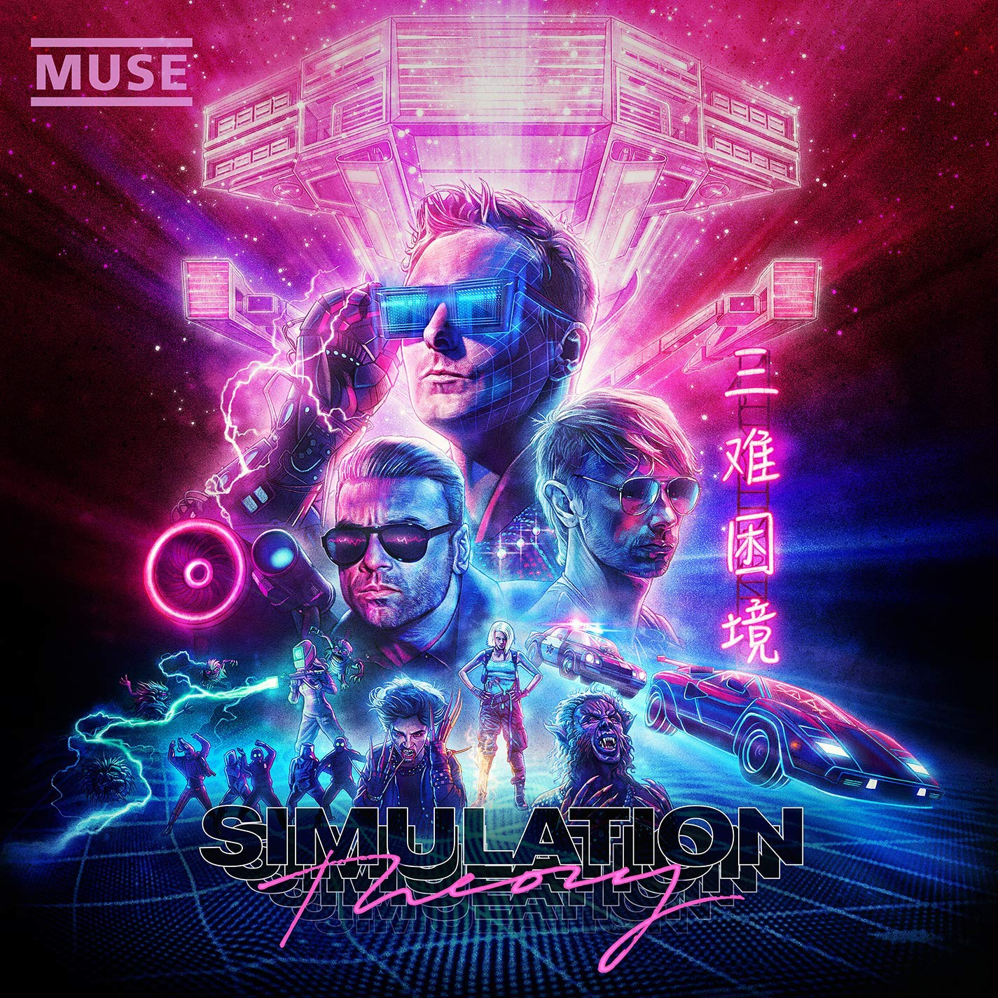 REVIEW Muse Clings To 80s Nostalgia In Simulation Theory