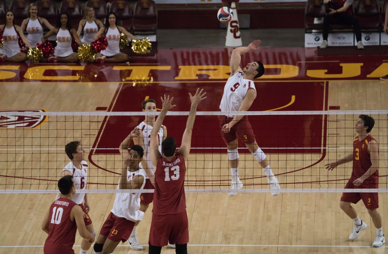 Men's volleyball takes two of three in its first ...