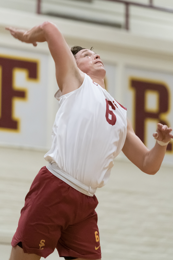 Men's volleyball opens postseason play with win
