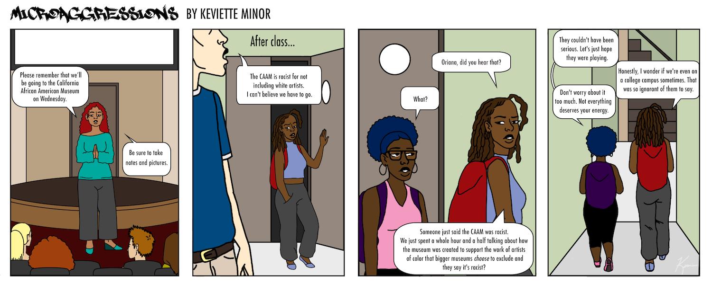 Microaggressions Vol. 1 Comic 4