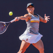 Daily trojan file photo tennis