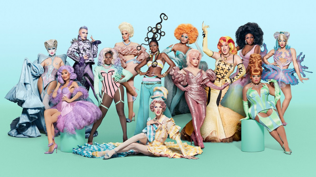 """A photo of the drag queens from season 13 of """"RuPaul's Drag Race."""""""
