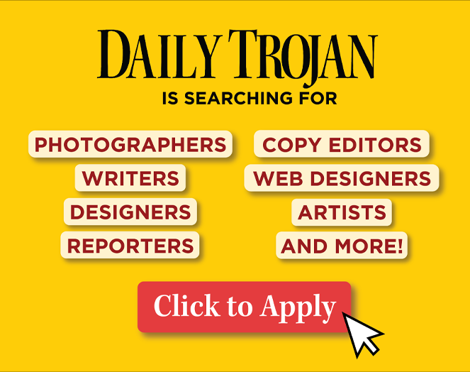 Apply to the Daily Trojan