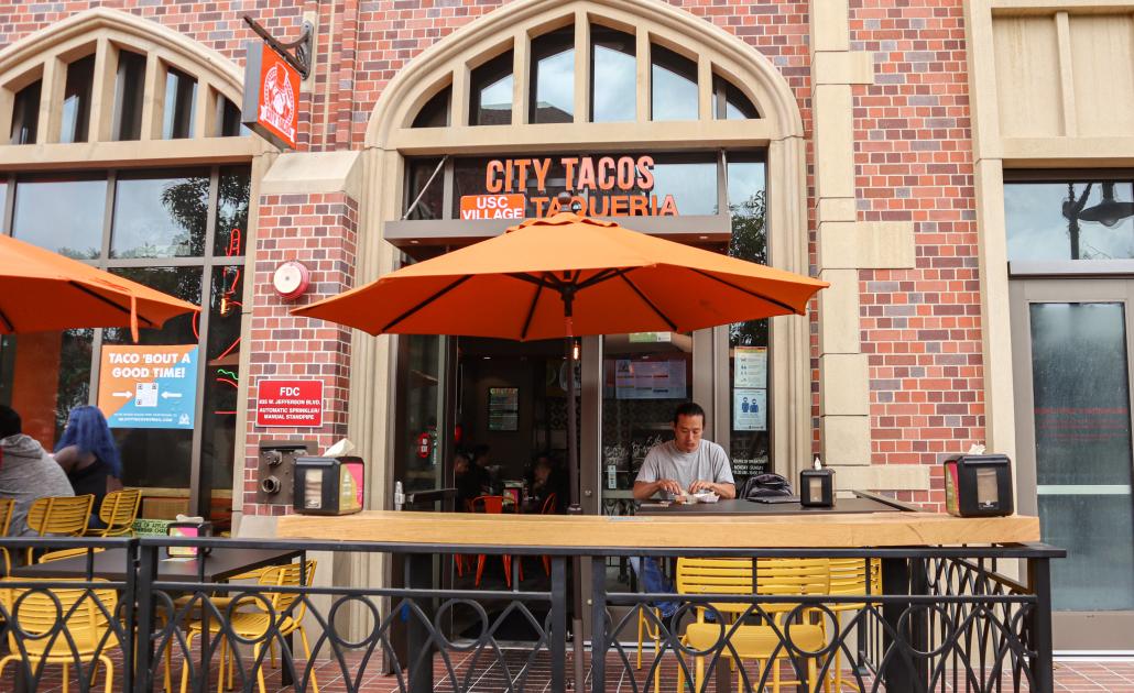 Image of City Tacos Taqueria storefront.